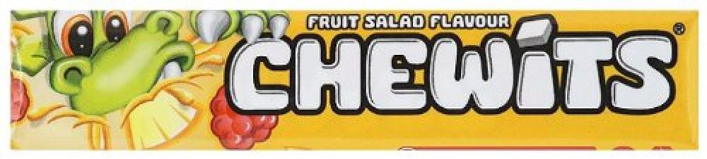 Chewits Fruit Salad Flavour Sweets 30g