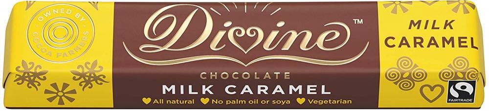 Divine Milk Chocolate Caramel 35g