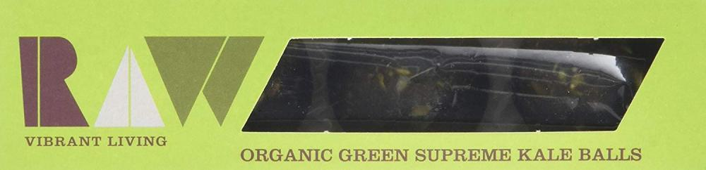 LUCKY1  Raw Health Organic Green Supreme Kale Balls 60g