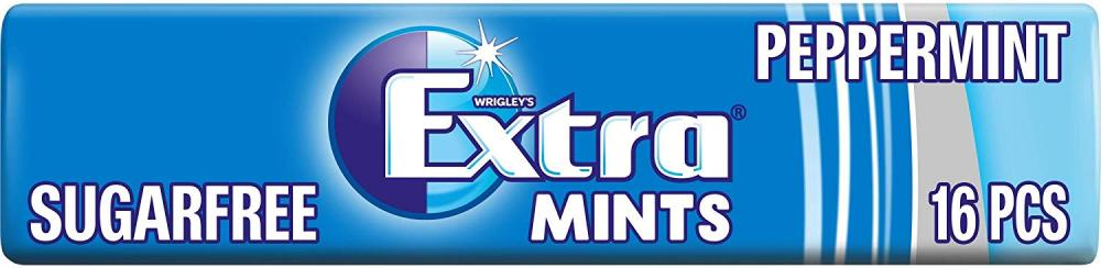 Wrigleys Extra Peppermint Sugarfree Mints 28 g