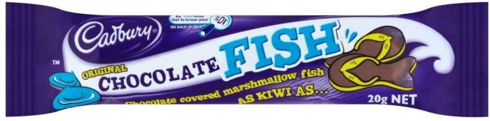 Cadbury Original Chocolate Fish Shape Bar 20 g