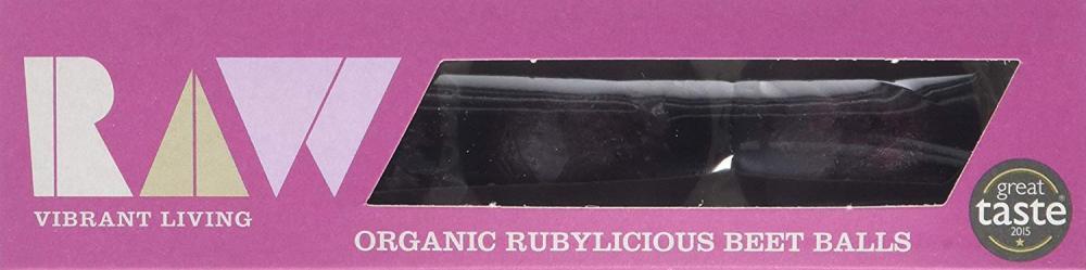 Raw Organic Rubylicious Beet Balls 60g