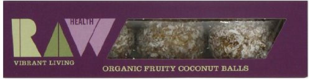 Raw Health Organic Fruity Coconut Balls 60g