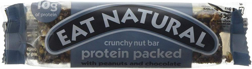 Eat Natural Natural Protein Packed Bar With Peanuts And Chocolate 45g