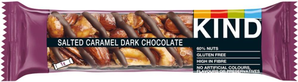 Kind Salted Caramel Dark Chocolate Bar 40 g