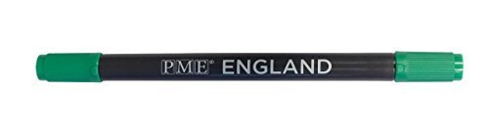 PME Brush n Fine Dark Green Pen