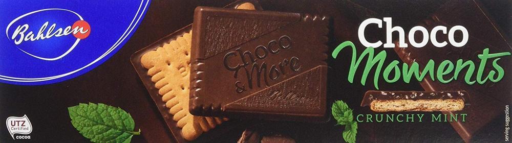Bahlsen Choco Moments Crunchy Mint 120g