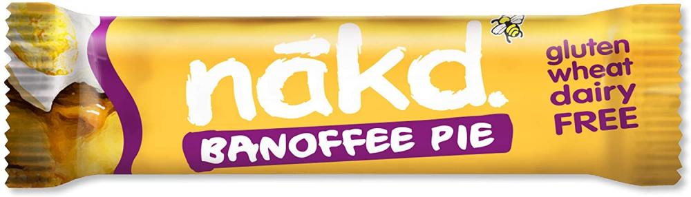Nakd Banoffee Pie Natural Snack Bar 35g