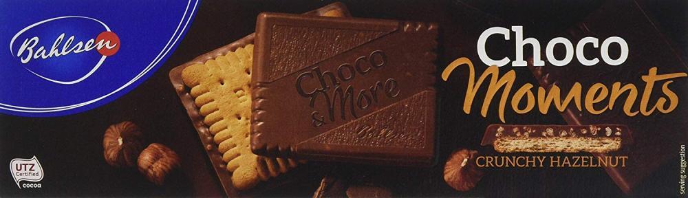 Bahlsen Choco and More Crunchy Hazlenut 120g