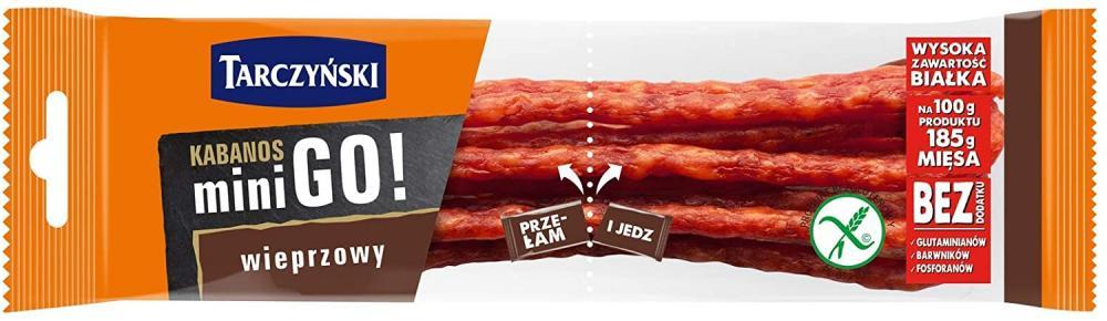 Tarczynski Kabanos Mini GO Pork 25 g
