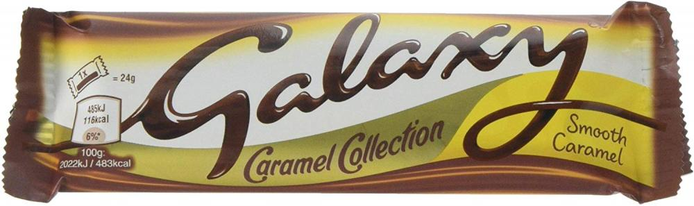 Galaxy Caramel Twin bar 48g