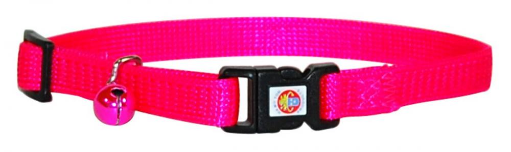 Hamilton Snag Proof Safety Cat Collar Hot Pink 8-12 inch