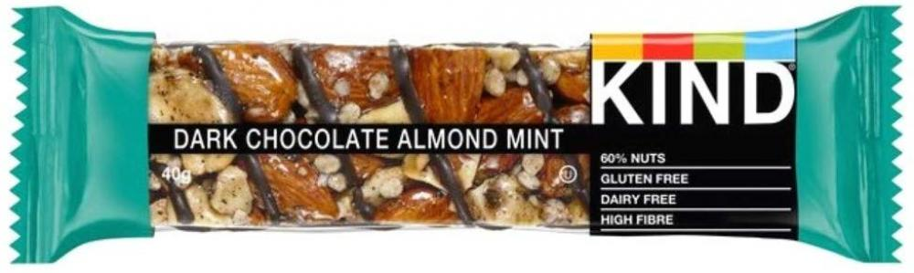 Kind Dark Chocolate Almond and Mint Bar 40 g