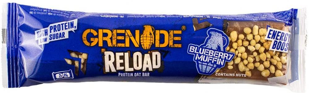 Grenade Reload High Protein Energy Oat Bar Blueberry Muffin 70 g