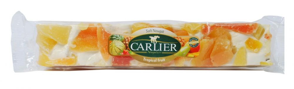 Carlier Tropical Fruit Nougat 150g