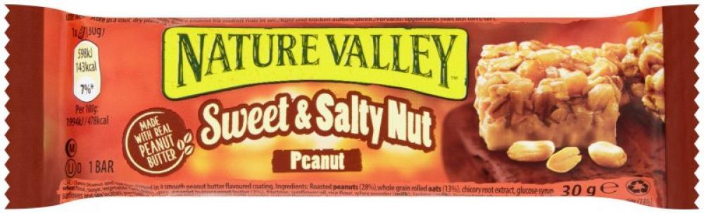 Nature Valley Sweet and Salty Nut Peanut 30g | Approved Food