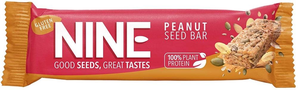 NINE Peanut Seed Bar 40g