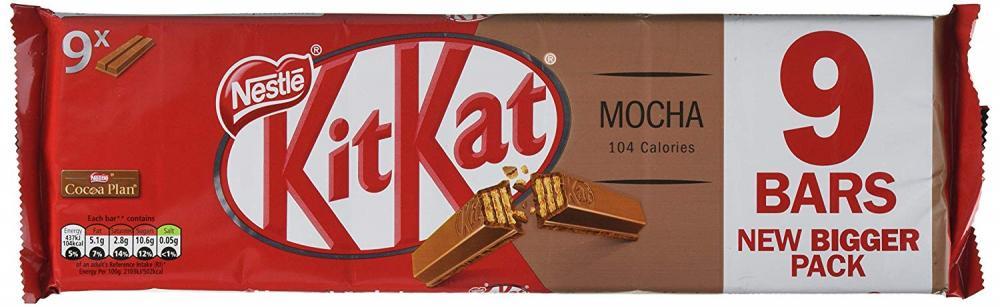 Kit Kat 2 Finger Mocha Biscuits Bar 186g