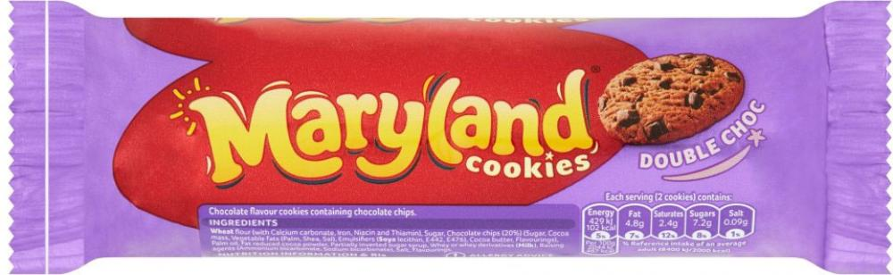 Maryland Cookies Double Chocolate 136g
