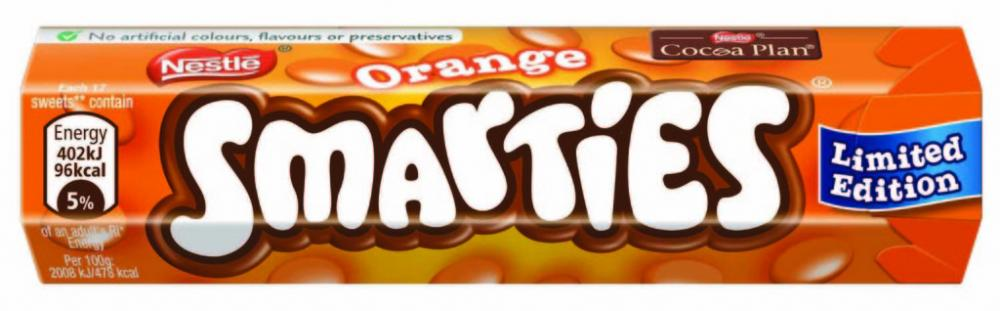 Nestle Smarties Orange 38g