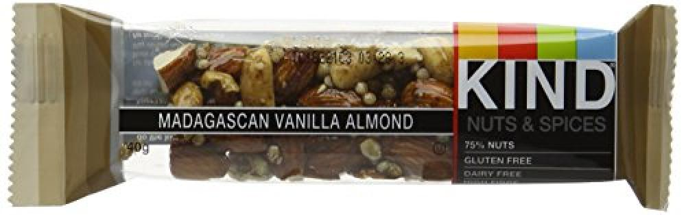 Kind Madagascan Vanilla Almond Bar 40g