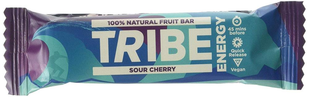 Tribe Sour Cherry Natural Fruit Energy Bar 42g
