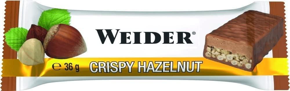 Weider Fitness Protein Bar Crispy Hazelnut 36 g