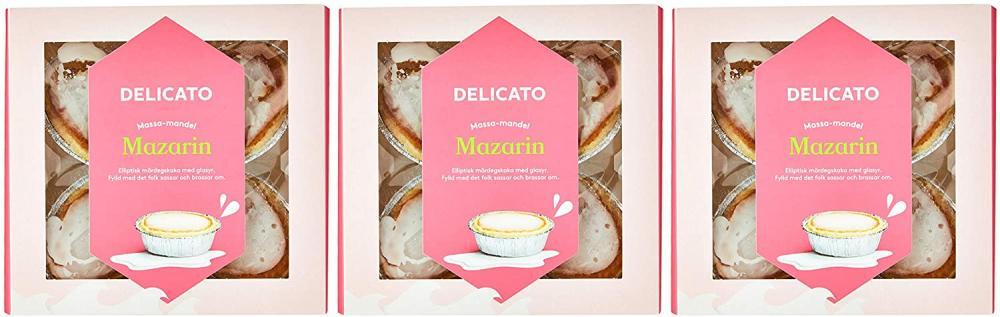 Delicato Mazarin Almond Pastry 220g