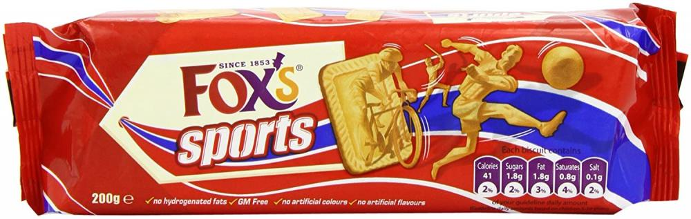 Foxs Sports Biscuits 200g