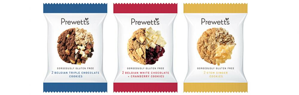 CASE PRICE  Prewetts Twin Pack Cookie Variety 39 Packs