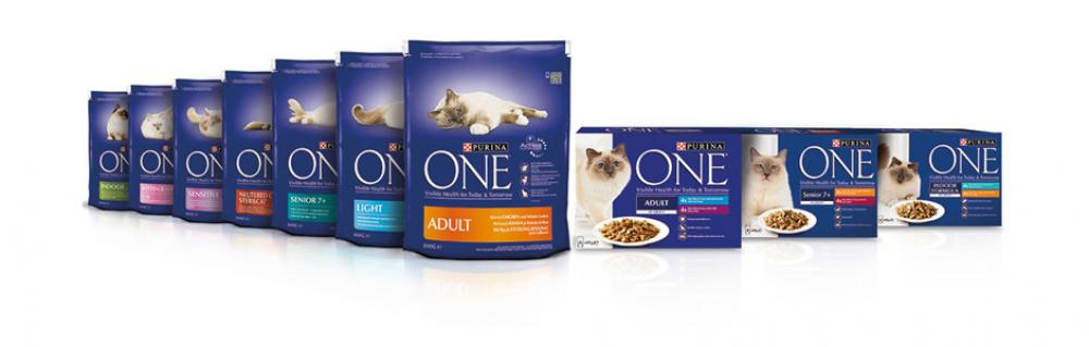 Purina One Adult Cat Food Mini Fillets in Gravy Lucky Dip 85 g