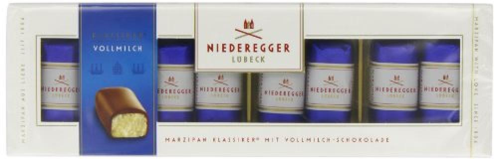 Niederegger Classic Milk Chocolate Marzipan Mini Loaves 100 g