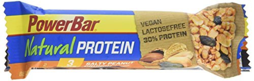 Power Bar Salty Peanut Crunch Natural Protein Bar 40g
