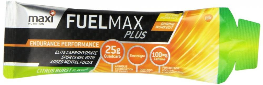 Maxi Nutrition Fuel Max Plus Sports Gel Citrus Burst 70g