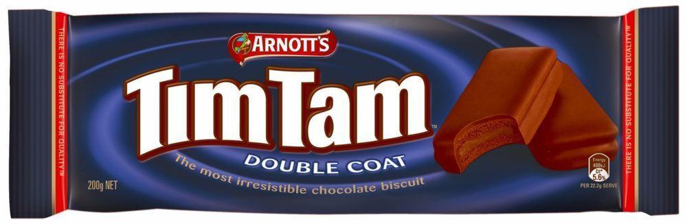 Arnotts Tim Tam Double Coat 200g