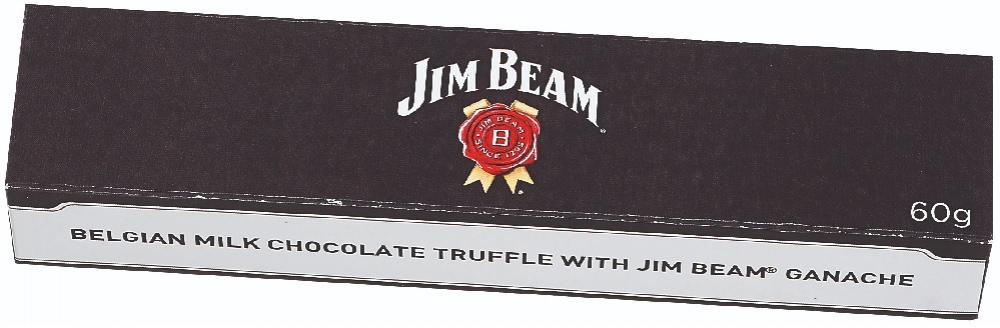 Jim Beam Milk Chocolate Truffles 60g