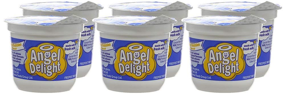 CASE PRICE  Angel Delight Banana Flavour Dessert 70g x 6