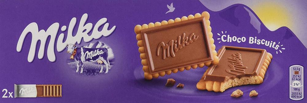 Milka Chocolate Biscuits 150g Damaged Box