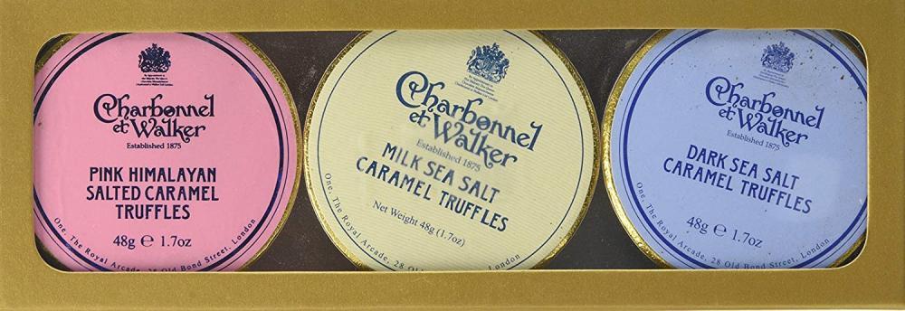Charbonnel Et Walker Dark Milk and Pink Himalayan Salted Caramel Gift Set 144g