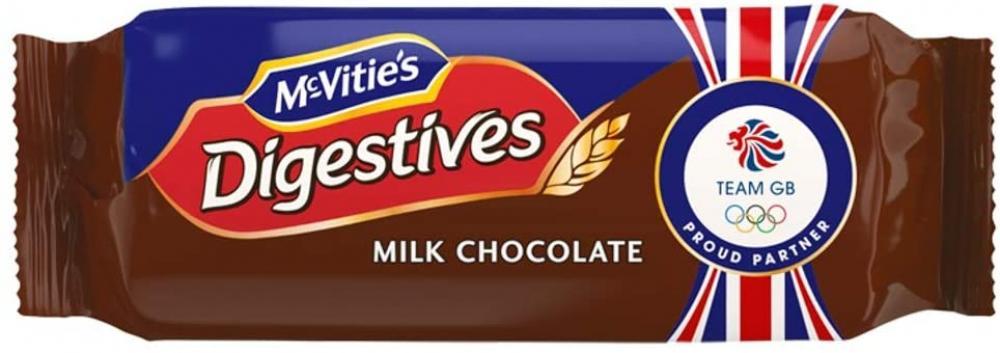 McVities Milk Chocolate Digestive Biscuits 266g