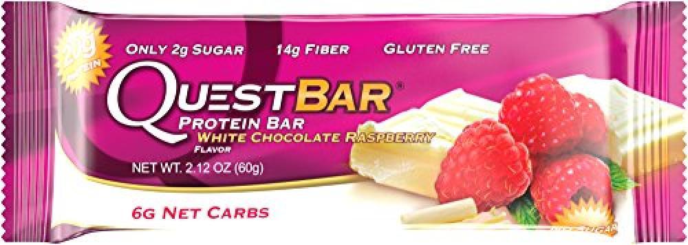 QuestNutrition White Chocolate Raspberry Quest Bar 60g