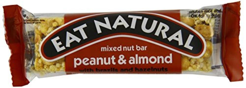 Eat Natural Peanuts Almonds and Hazelnuts 45 g