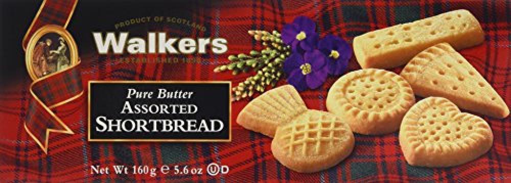 Walkers Shortbread Assorted Shortbread 160g
