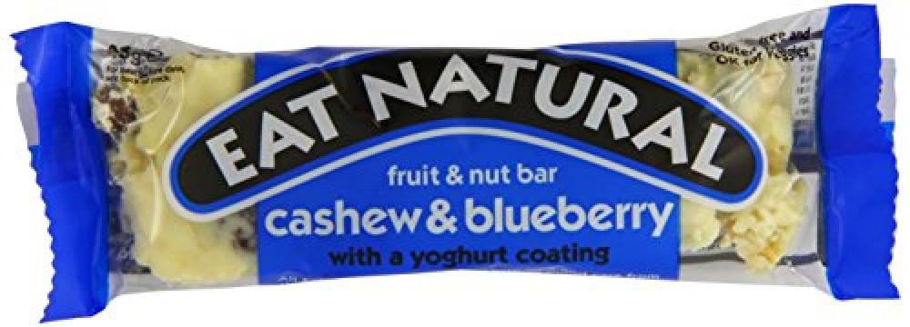 Eat Natural Blueberries Cashews and a Yoghurt Coating 45 g