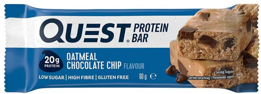 Quest Nutrition Oatmeal Chocolate Chip Flavour Protein Bar 60 g