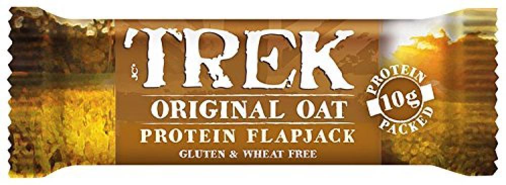 Trek Original Oat Protein Flapjack Bar 50g