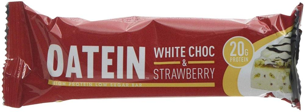 Oatein White Choc and Strawberry Protein Bar 60 g
