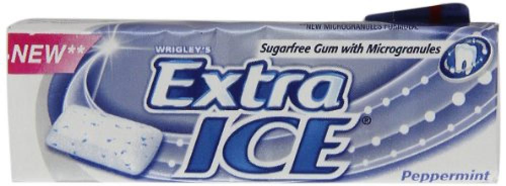 Wrigleys Extra Ice Peppermint Sugarfree Chewing Gum