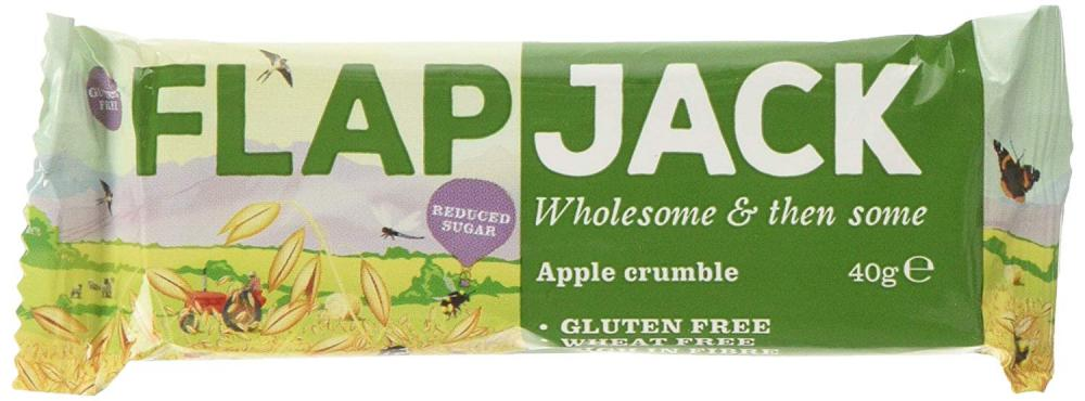 Brynmor Apple Crumble Reduced Sugar Flapjack 40g