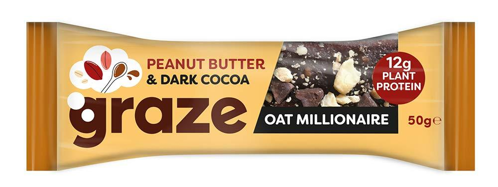 Graze Peanut Butter and Dark Cacao Oat Millionaire 50g